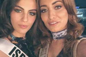 "In Japan for the Miss Universe contest, Idan and the 20-year-old Gandelsman clicked a selfie that was posted on Instagram with the tile, ""Peace and Love from Miss Iraq and Miss Israel""."