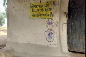 Madhya Pradesh: Shahria tribals branded poor with words painted on...