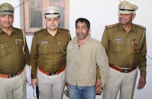 the accused husband, Rajkumar Sachdeva, in police custody.