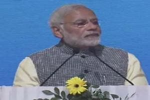 PM Modi addressed a public meeting in Mizoram during his first visit to the state since assuming office.
