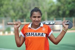 Rani Rampal is the captain of the Indian women's hockey team.