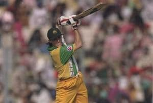 On this day in 1997 - the first ever double ton in ODI cricket was...