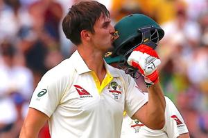 Mitchell Marsh's Ashes century leaves family with full hearts and...