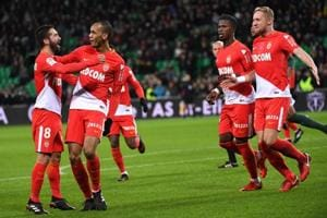 Ligue 1: Monaco hit four vs Saint-Etienne to stay in PSG chase