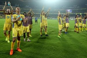 Kerala Blasters notched their first win of the Indian Super League...