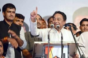Constable aims gun at former Union min Kamal Nath, overpowered by MP's...