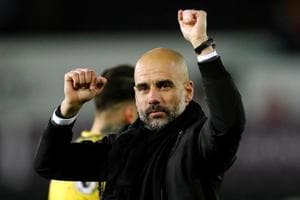 Despite Manchester City's flying start to the season, manager Pep...