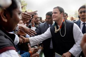 'We spread love': Rahul Gandhi takes charge as Congress president; ups...