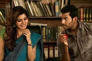 In Irumbu Thirai, Vishal was more interested in playing the baddie:...