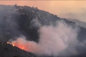 California wildfire becomes state's third-largest on record, more...
