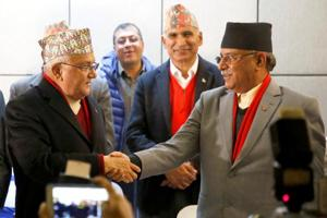 Oli brushes aside reports of 'non-cooperation' from India to Nepal's...
