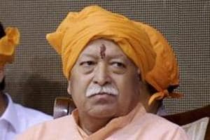 RSS chief Mohan Bhagwat visits Tripura, says anybody living in India...