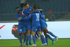 FC Goa condemned Delhi Dynamos to their fourth consecutive defeat with...