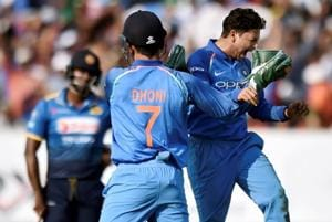 India vs Sri Lanka: MS Dhoni stumps visitors' fortunes in...