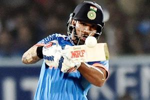 Shikhar Dhawan scores brilliant ton as India clinch ODI series against...