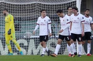 AC Milan slump to shock 3-0 loss against struggling Verona in Serie A