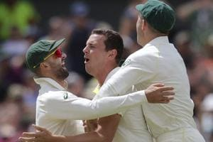 Australia close to Ashes glory as England lose three wickets in Perth...