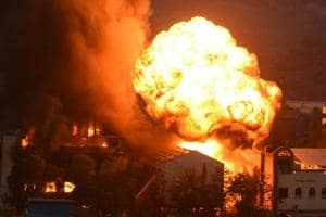 Reactor blast causes fire in Navi Mumbai chemical factory; nine...