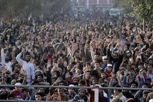 Thousands rally in Pakistan against Trump's Jerusalem move