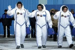 US, Russian, Japanese crew takes off for International Space Station