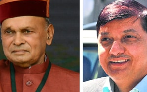 Once Dhumal's disciple,  Cong's Rajinder Rana defeats his mentor  in...