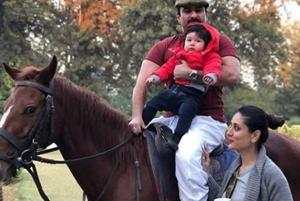 Taimur's first horse ride with dad Saif Ali Khan is a great beginning...