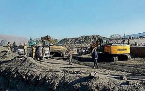 Illegal mining: 6 earthmovers, 8 trucks seized in Bharatpur
