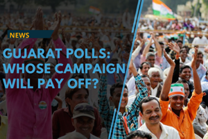 Both the BJP and the Congress ran a fierce campaign for Gujarat...