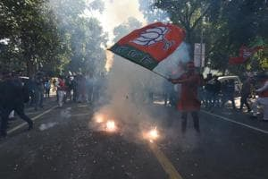 Gujarat election results: BJP vote share slumps since 2014; up from...