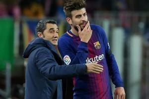 FCBarcelona boss Ernesto Valverde adamant Clasico won't decide La...