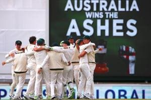 Australia hand England thrashing in Perth to regain Ashes