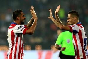 A 54th minute goal from Robin Singh handed ATK a 1-0 win over Mumbai...