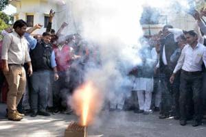 BJP celebrates Gujarat, Himachal victory