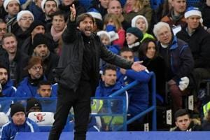Chelsea manager Antonio Conte rails against rumours of exit from...