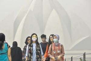 Delhi witnessed its worst smog in 17 years in 2016. Fumes from stubble-burning regions, firecrackers burnt during Diwali.