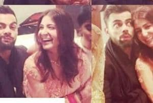 As Virat Kohli makes funny faces, wife Anushka Sharma can't stop...