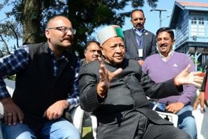 Virbhadra Singh accepts Congress' defeat in Himachal state assembly...