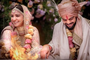 Actor Anushka Sharma and cricketer Virat Kohli got married in Italy — a secret ceremony for two very high-profile people.