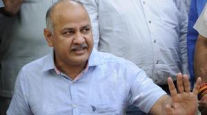 Aam Aadmi Party (AAP) leader Manish Sisodia