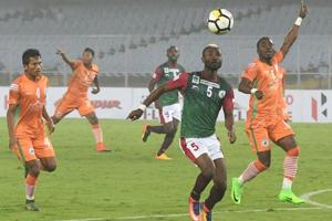 Mohun Bagan were held to a goalless draw by NEROCA FC and it continued their poor run in the I-League.
