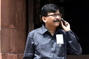 Sena MP Sanjay Raut's comments came as the Congress' seat tally increased
