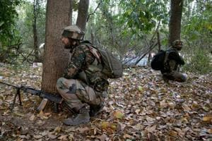 Security forces had launched a cordon and search operation in Wanipora area of Shopian on Monday evening following information about presence of militants in the area, an army official said.