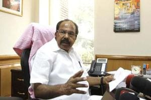 M Veerappa Moily alleged that PM Modi raised issues to emotionally blackmail the electorate in Gujarat.