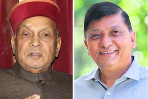 Rajinder Rana (left), a one-time protege of Prem Kumar Dhumal, knew the weaknesses and strengths of the party.