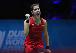 Carolina Marin of Spain, the reigning Olympic champion who beat PV Sindhu in the final in Rio last year, will continue playing for Hyderabad Hunters in the Premier Badminton League (PBL) this season.