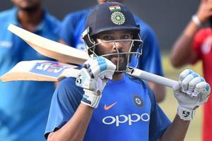 Rohit Sharma on the cusp of breaking Yuvraj Singh's six-hitting record