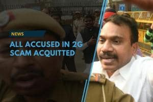A.Raja, Kanimozhi acquitted in the 2G scam case, the special CBI court...