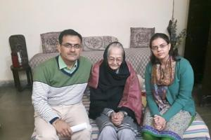 For Jayanti, age is just a number and perhaps this belief kept her going all these years.