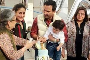Kareena Kapoor's son Taimur turns 1, Kapoors and Khans come together...