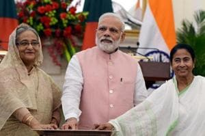 We are looking forward to Narendra Modi's assurance on sharing Teesta...